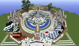 Obsidian-PvP Grand Spawn Minecraft Map & Project