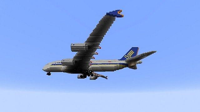 карта самолёт для minecraft #9
