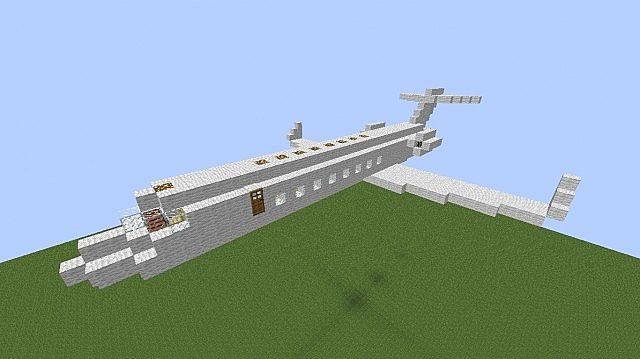 Jet Privato Minecraft : Private jet learjet minecraft project