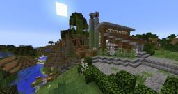 Small Lake House Vacation Home - Bayou Bonita Minecraft Map & Project