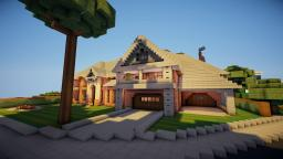 Squizzy ~ Victorian Style mansion Minecraft Map & Project