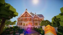 Scruff ~ Tudor style mansion Ft Torworthy Minecraft Map & Project