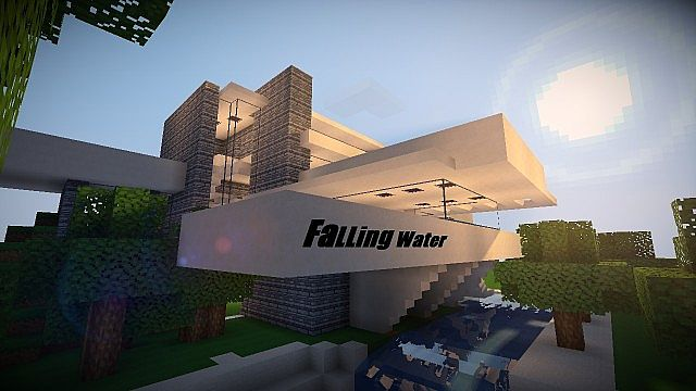 Fallingwater Minecraft Project