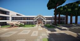 WOK first modern high school!! Minecraft Project