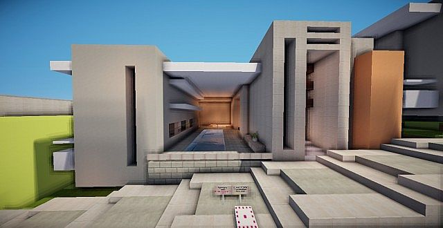 Modern Row Houses Minecraft Project