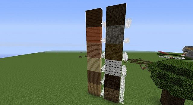Standard mc all woods stacked.