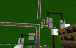 The train track switcher Minecraft Map & Project