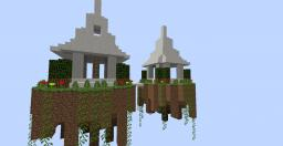 SkyTowers Minecraft Map & Project