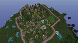 Medieval Village Minecraft Map & Project