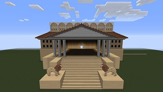 Great Library Of Alexandria Minecraft Map