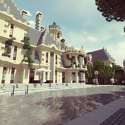 French Baroque Mansion TBS WoK 0fri Minecraft Project