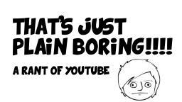 That's Just Plain Boring! - A rant by naurtokitten101 Minecraft Blog Post