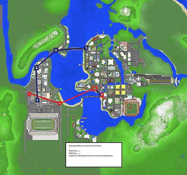 Bayview heights a modern city minecraft project subway stations gumiabroncs Choice Image