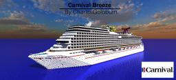 Carnival Breeze 1:1 Real Cruise Ship [+Download] Minecraft
