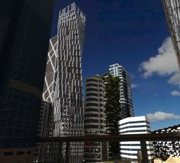 Infinity Tower / Cayan Tower Minecraft Map & Project