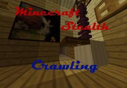 Vanilla Minecraft - How to crawl everywhere with few settings! Minecraft