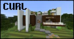 Curl - Modern House 2 Minecraft Project