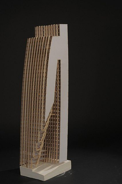 Physical model at 116  1 scale