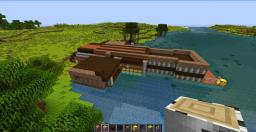 Fishing Dock Minecraft Map & Project