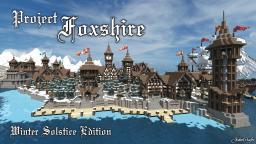 | Foxshire - Winter Solstice | Medieval Village Minecraft