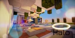 Halo -An ultra-modern House (Now Also for MCPE) Minecraft