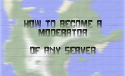 How to become a mod on ANY server! Minecraft Blog