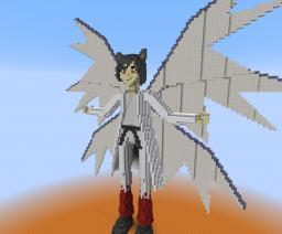 Aeronator Statue Minecraft Project