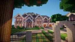 TRADITIONAL ESTATE ||Pwego Server|| front page! Minecraft Map & Project