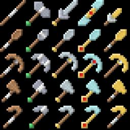 Items Galore Minecraft Texture Pack