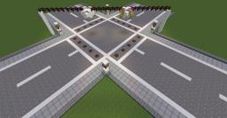 Modular Roadway Infrastructure Minecraft Map & Project