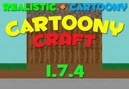 CartoonyCraft - Cartoon and Realistic Minecraft Texture Pack