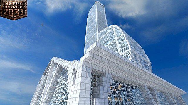 Skyscraper Complex Minecraft Project