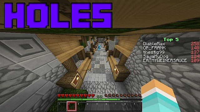 Our hole fight arena.