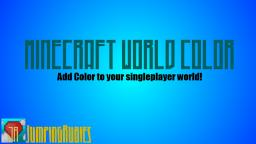 World Color | Edit the text color of your world! | Fast and easy! Minecraft Mod