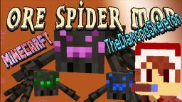 Minecraft: ORE SPIDERS Mod Showcase 10 NEW SPIDER MOBS Easy Emeralds - MyDiamondSkeleton! Minecraft Blog