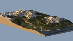 Snow Covered Mountains(custom Terrain)