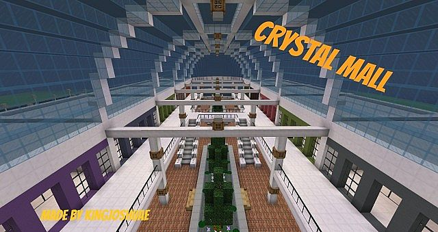 Crystal mall minecraft project for Craft com online shopping