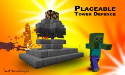 Placeable tower defence towers in vanilla Minecraft 1.8