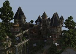 Ancient Castle Ruins Minecraft Map & Project