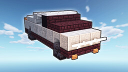 Tesla CyberTruck Pick-up EV Minecraft Map & Project