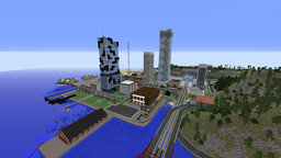 Transport Empire Iteration 6.5 Map (1.12.2) For Immersive Railroading Minecraft Map & Project