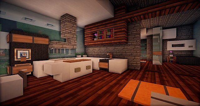 Frigid Luxury Home Minecraft Project