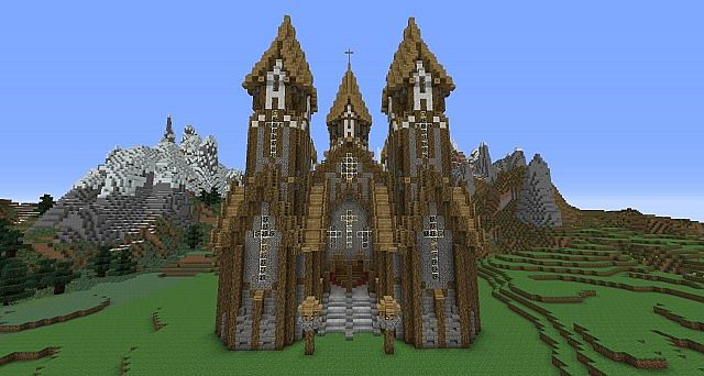 Pictures of Medieval Cathedrals Minecraft - #rock-cafe