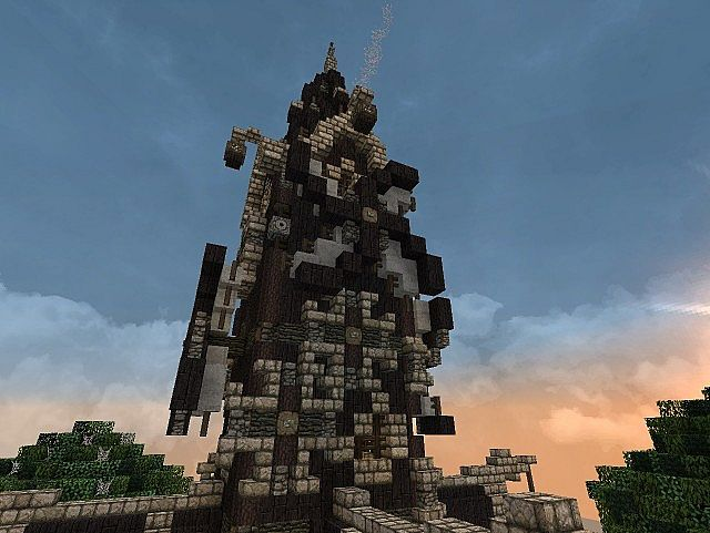 steampunk building minecraft project