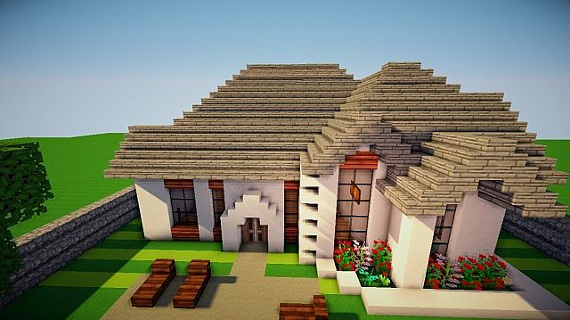 Traditional House Minecraft Project - photo#26