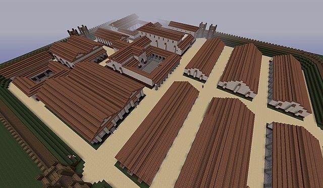 Castrum Eviticus Cavalry Minecraft Project
