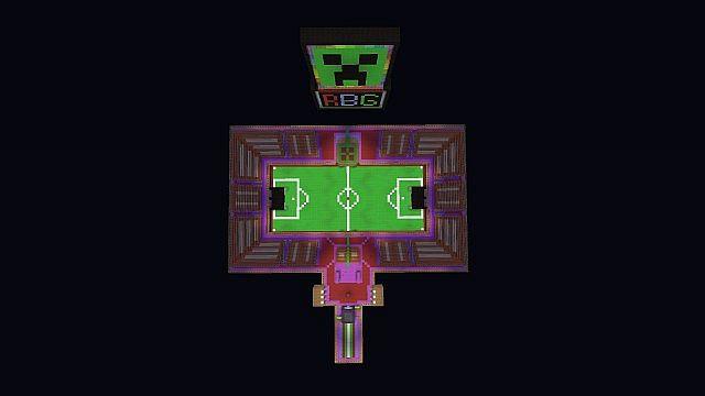 [Map] Soccer v2 - футбол в minecraft