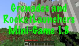 Grenades and Rocket Launchers 14w03b or 1.8 [PVP] [VANILLA!] [MINIGAME] Minecraft Project
