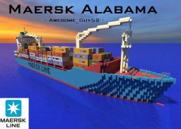 Maersk Alabama Cargo Ship 1:1  [Captain Philips] Minecraft Map & Project