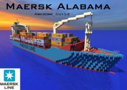 Maersk Alabama Cargo Ship 1:1  [Captain Philips] Minecraft Project